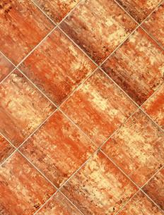 terracotta tile - terracotta tilesの写真素材 [FYI00807232]
