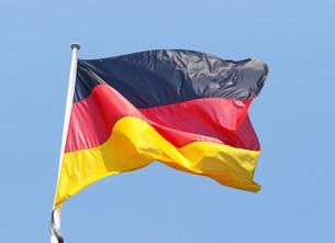 germany flag - german flagの写真素材 [FYI00807296]