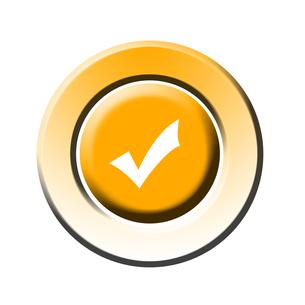 ok buttonの素材 [FYI00807849]