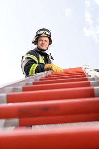 firefighterの写真素材 [FYI00807874]