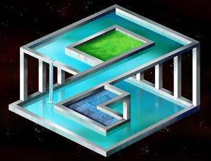 spaceの写真素材 [FYI00808012]