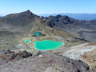 tongariro national park - new zealandの写真素材 [FYI00808202]