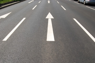 middle laneの写真素材 [FYI00808284]