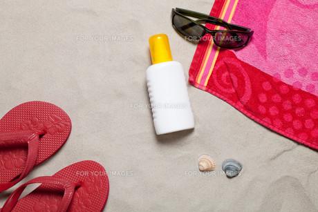 sunscreenの写真素材 [FYI00808482]