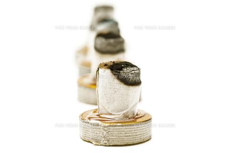 moxibustionの写真素材 [FYI00808573]