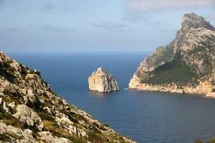 formentor,one of the landmarks of mallorcaの写真素材 [FYI00809706]
