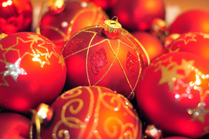 christmas ballsの素材 [FYI00810236]