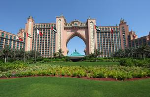 atlantis,the palm resort hotel in dubaiの素材 [FYI00810614]