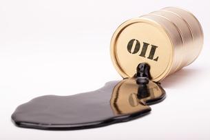 oil barrel gold 4の写真素材 [FYI00810864]