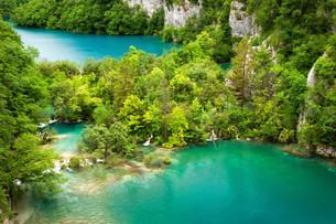 plitvice lakes national parkの写真素材 [FYI00810919]