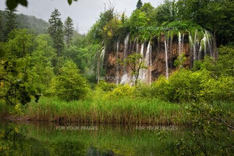 plitvice lakes national parkの写真素材 [FYI00810938]