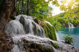 plitvice lakes national parkの写真素材 [FYI00810941]