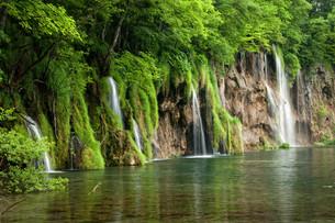 plitvice lakes national parkの写真素材 [FYI00810943]