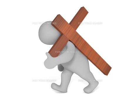 wearing crossの素材 [FYI00811031]