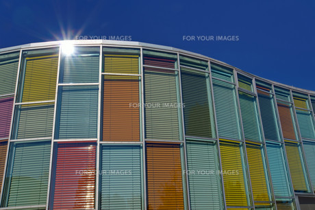 colorful architectureの写真素材 [FYI00811411]