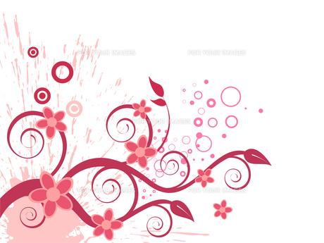 floral designの素材 [FYI00811709]