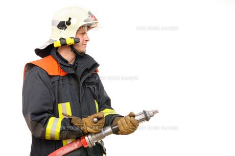 firefighterの写真素材 [FYI00811751]