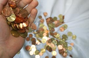 pennies from heavenの素材 [FYI00812434]