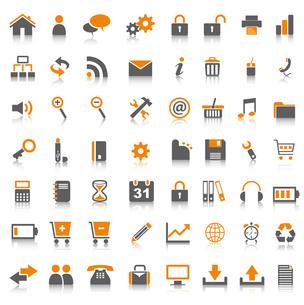internet iconsの写真素材 [FYI00812849]