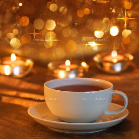 tea time to christmasの写真素材 [FYI00812894]