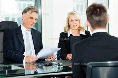 business - interview for applicationの写真素材 [FYI00812916]