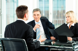 business - interview for applicationの写真素材 [FYI00812962]