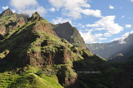 cape verde islands west coast of antaoの写真素材 [FYI00813687]