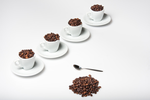 coffee beansの写真素材 [FYI00814090]