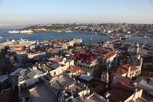 istanbul panorama,turkeyの写真素材 [FYI00814101]