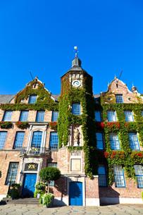dusseldorf town hallの写真素材 [FYI00814530]