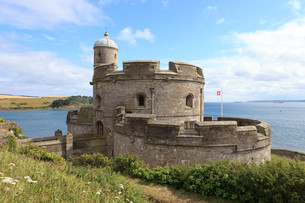 st. mawes castleの写真素材 [FYI00814736]