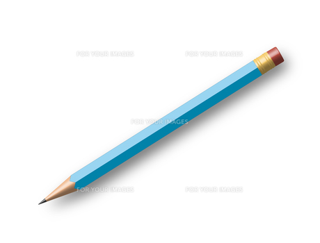 blue pencilの写真素材 [FYI00814779]