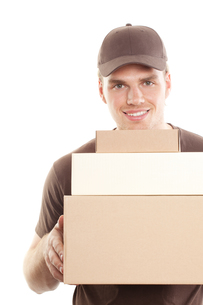 delivery packageの写真素材 [FYI00815194]