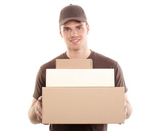 package deliveryの写真素材 [FYI00815196]