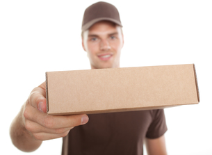 delivery packageの写真素材 [FYI00815207]