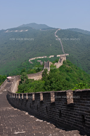 great wall of chinaの素材 [FYI00815300]