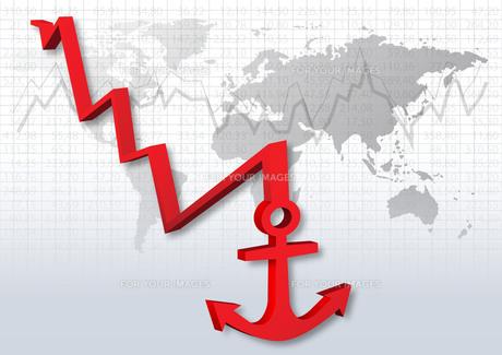 stock market crashの写真素材 [FYI00815337]