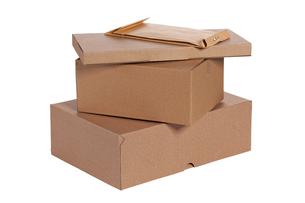 cardboard boxesの写真素材 [FYI00815370]