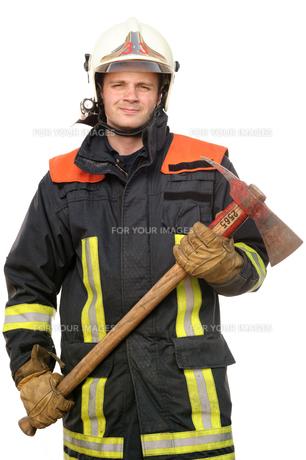 firefighterの写真素材 [FYI00815790]