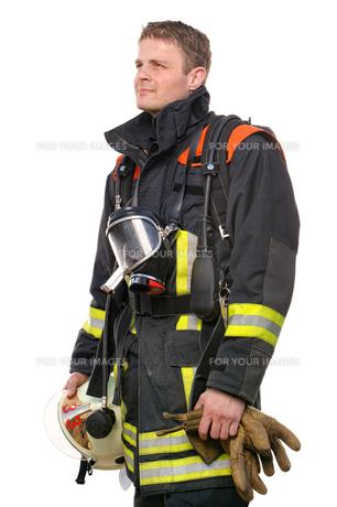 firefighterの写真素材 [FYI00815794]