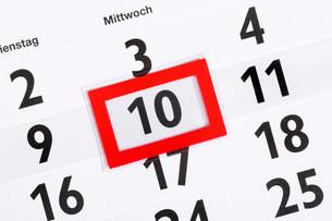 calendarの素材 [FYI00815935]