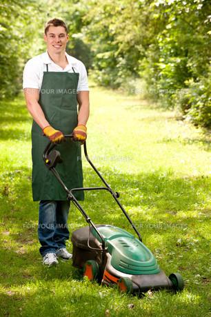 young gardenerの素材 [FYI00816075]