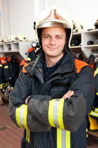 firefighterの写真素材 [FYI00816084]