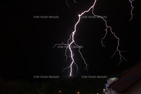 bltz and thunderの写真素材 [FYI00816338]
