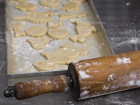 cookies on plateの素材 [FYI00816396]