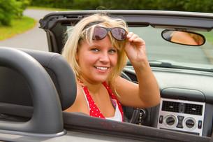 woman driverの素材 [FYI00816559]