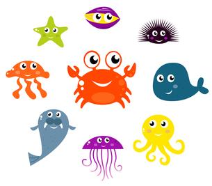fishes_crustaceansの素材 [FYI00816575]