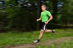 athlete joggingの写真素材 [FYI00816595]