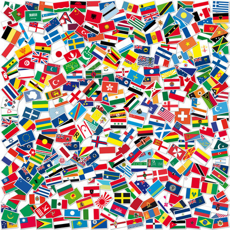 flagsの写真素材 [FYI00818033]