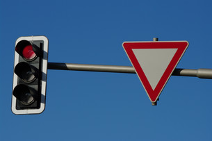 traffic lightsの写真素材 [FYI00819292]